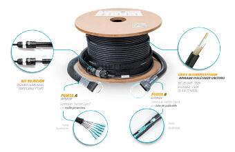 Cable preconectorizado