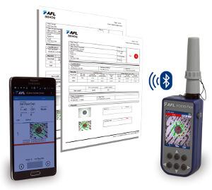 Sistema portátil de inspección de conectores