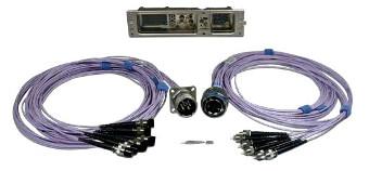 Conectores de fibra óptica ARINC 801