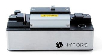 Revestidor portátil de fibras ópticas