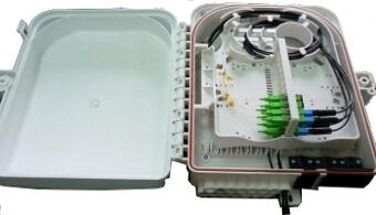 Cajas IP65 para distribución de fibras ópticas