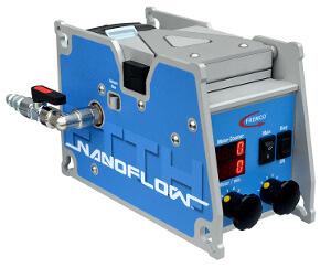 Máquina automática para soplado de fibra óptica