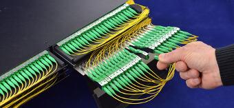 Plataforma para gestión de fibra de alta densidad
