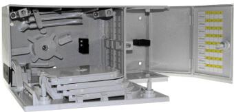 Cajas apilables multi operador para instalaciones ICT2