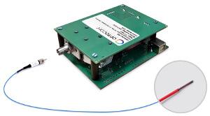 Sensor de temperatura por fibra óptica