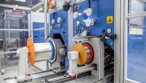 Sistema de test de tensión axial para fibras especiales