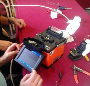 Cursos de fibra óptica en Ciudad Real, Sevilla y Valencia