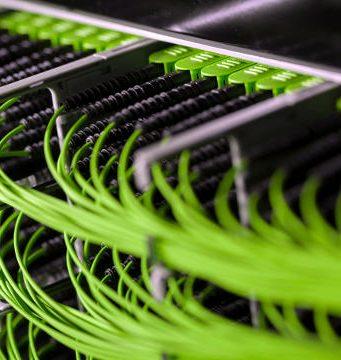 Sistema de gestión de cables para switches modulares cloud