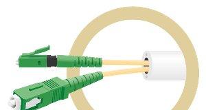 Microductos de fibra óptica preconectorizados