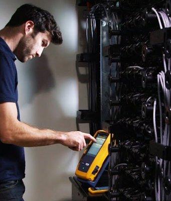 Certificadores de cableado modulares