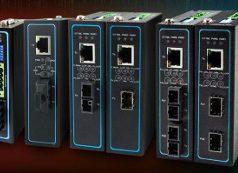 Convertidores de medio para redes industriales