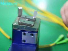 Mini-interferómetro para extremos de conectores