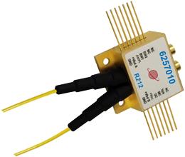 Receptor óptico balanceado AGC