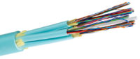 Cable de fibra con SpiderWeb Ribbon