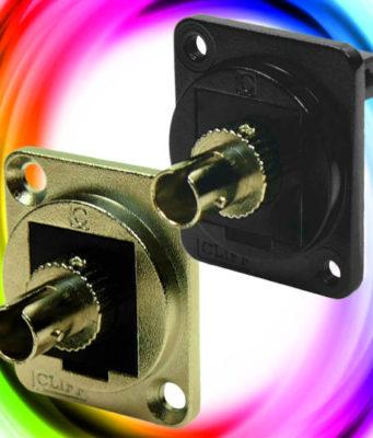 Conectores de fibra óptica ST