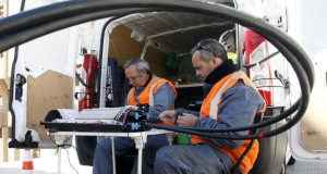 Informar a los instaladores de fibra óptica