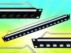 Paneles de rack preensamblados
