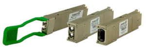 Transceptores QSFP28 100G para centros de datos