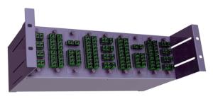 Paneles de rack estándar con módulos MPO pre montados