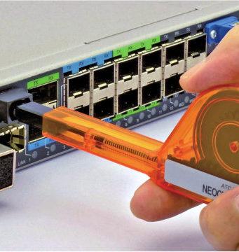 Lápiz de limpieza para conectores MPO / MTP