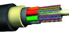 Tubo para cable suelto en entorno industrial
