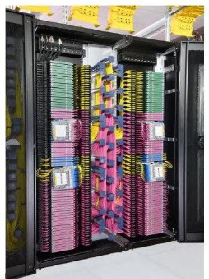 Sistema de gestión de fibra de doble acceso