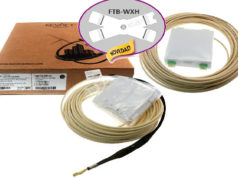 Accesorio para cajas de fibra con cable