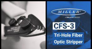Peladora para cables de fibra óptica
