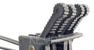 Retenedores a pared de cables fibra óptica planos