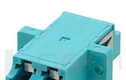 Acopladores LC con obturador estanco al polvo