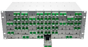 Panel de fibra óptica modular para cableado personalizado