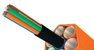 Cables rastreables por tonos de fibra óptica