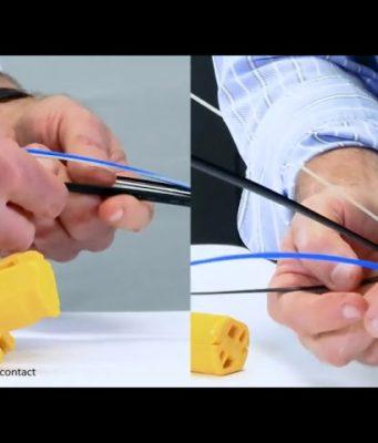 peladora de cable twister