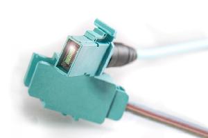 Conectores para fibra de alta densidad
