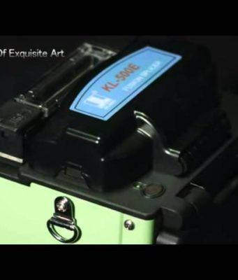 Kit de fusionadora FTTH núcleo a núcleo