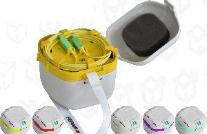 Mini bobinas de lanzamiento con conectores incorporados