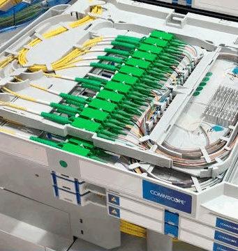 Solución ODF para instalaciones de fibra óptica avanzadas
