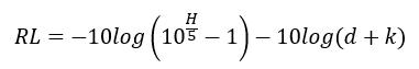 La reflectancia se puede calcular a partir de la siguiente expresión
