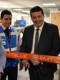 Emtelle abre una nueva instalación para la terminación de fibras ópticas