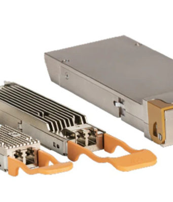 Módulos transceptores ópticos de 400G