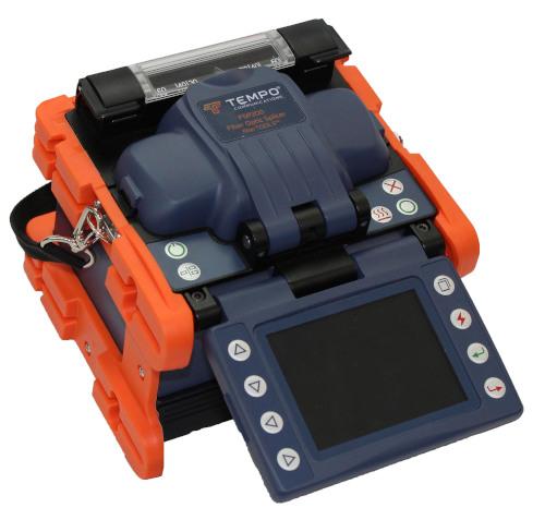 Fusionadora y cortadora de fibras ópticas