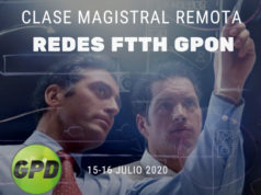 Clase magistral sobre redes FTTH GPON