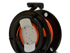 Enrolladores para cables de fibra óptica