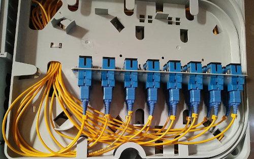 La velocidad de la tecnología con fibra óptica