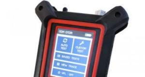 OTDR con Bluetooth en un diseño compacto y robusto