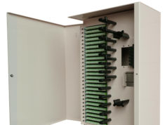 Caja de enrutamiento de fibra óptica