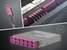 Sistema tML FO MDC para cableado de alta densidad