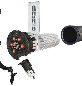 Torpedos Apex con capacidad de hasta 3456 fibras ópticas