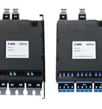 Conversión y derivación para la plataforma de fibra óptica ASCEND