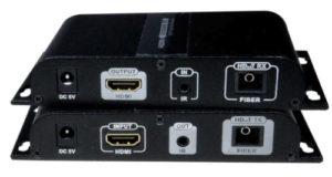 Divisor extensor HDMI sobre fibra monomodo SC